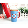 New Style Ceramic Mug With Lid and Handle
