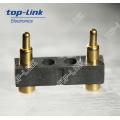 2pin Flat Pogo Pin Stecker mit Gehäuse