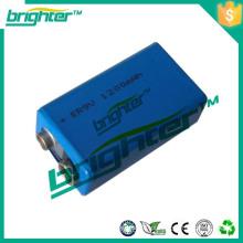 Bateria de lítio 1200mah lithium Lithium ER9V para detector de fumaça