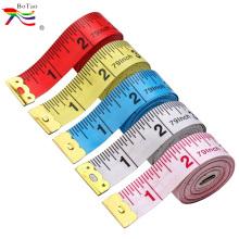 Impressão personalizada de tecido de costura coberto com fita métrica