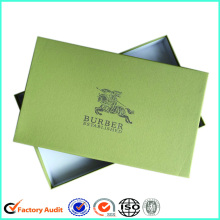 Custom Logo Luxury Scarf Packaging Box