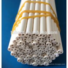 Rodillo poroso del perno de la barra del tubo de la cerámica de la magnesia porosa de alta temperatura