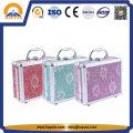 Joias personalizadas e caixa de cosméticos com espelho (HB-2046)