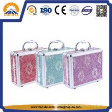 Kundengebundene Schmuck- und Kosmetikbox mit Spiegel (HB-2046)