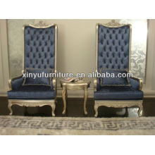 wooden high back chair XY4886