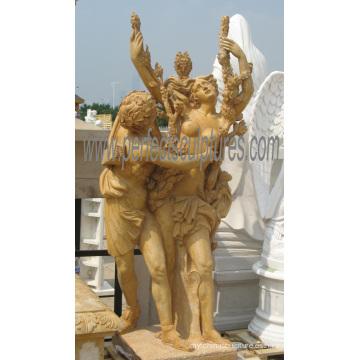 Escultura tallada de mármol tallando la estatua de piedra con la piedra arenisca del granito (SY-X1686)