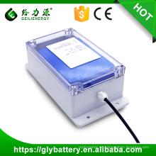 Geilienergy OEM ODM Profesional capacidad personalizada 60A 12v 24v 100Ah caja de batería de iones de li de almacenamiento solar para el sistema solar