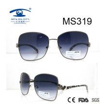 Große Größe neue heiße Metall-Sonnenbrille (MS319)