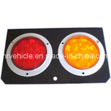 LED Stop Tail Turn Lamp for Trailers with Steel Pad