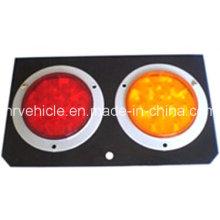 Lâmpada LED Stop Turn Turn para Reboques com Almofada de Aço