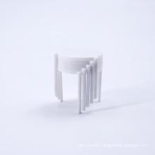 Take out catering disposable white pizza box tripod stack plastic pizza  tripod saver biodegradable