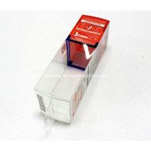 Caixa plástica UV do vinco da impressà £ o deslocada PET / PVC / PP (pacote do presente dos PP)