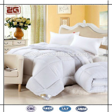 Guangzhou Supply 200GSM Quilted Style Goose Down Filling Hotel Bed Comforter Set