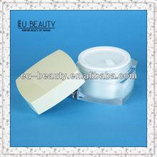 Square Shape Luxus Acryl Creme Gläser für kosmetische Verpackung 50g