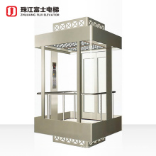 Fuji Cheap Price For Outdoor Square Safe And Comfortable Full View Panoramic Sightseeing Glass Lift Elevator