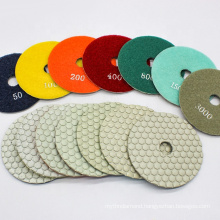 China high temperature resistance white dry grinding polishing pad