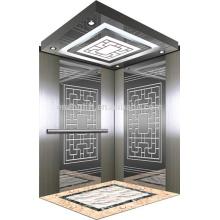 Ascensores de pasajeros de productos al por mayor de paneles de pared de ascensor de madera
