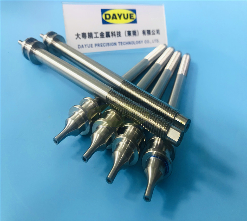 Machined drive shaft mechanical assembly motor shaft