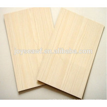 White melamine paper faced chipboard