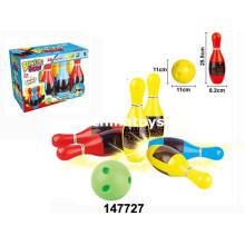 Juego de bolos de juguetes de plástico de promoción (147727)