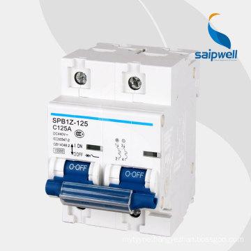 SAIP/SAIPWELL Hot Sales DC  RoHS certificated Breaker Mccb