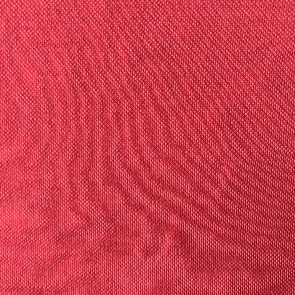 Red Vintage pique fabric stone wash old fashion