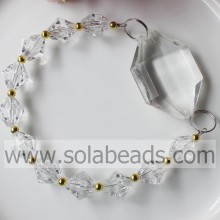 Cold 270MM Length Plastic Beading Pendant