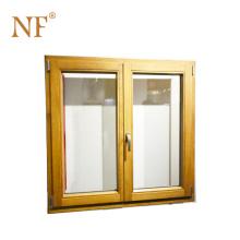 wood and aluminum composite window