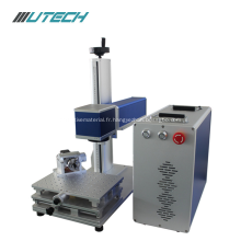 Machine d'inscription de laser de la fibre 30w pour le plastique en métal