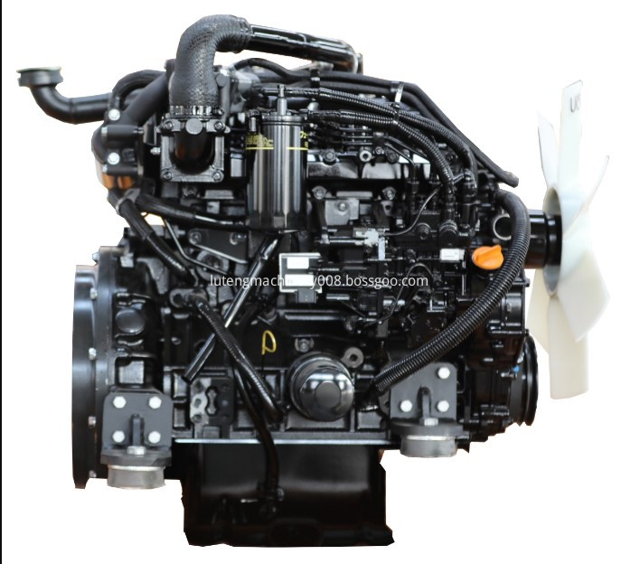 Powerful engine,