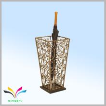Oficina de origen suministros baratos alambre de metal malla húmedo paraguas playa stand