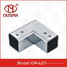 Puerta de cristal Puerta Corner Pipe Connector