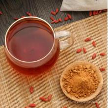 Venta caliente Wolfberry Medlar en polvo secado orgánico Goji Berry en polvo