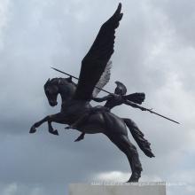 Пегас бронзовая скульптура
