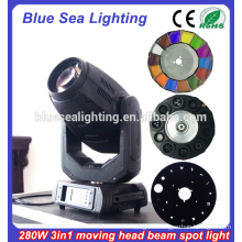 Robe pointe 280w sharpy 10R 280 beam spot wash 3 in 1 moving head light