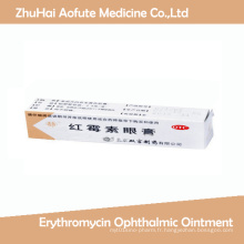 Erythromycine Ophtalmique Pommade pour soins oculaires