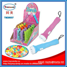 Stattionary Girls Torch Toys with Candy