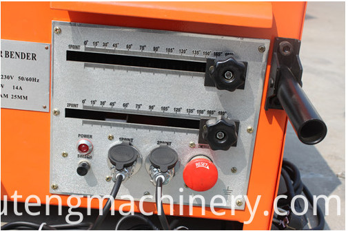 rebar bending machine7