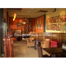 Muebles modernos de la tienda del café de la nueva llegada (FOH-CSF1)