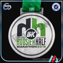 5k hoosier half marathon sport medal of zinc alloy 2016