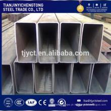 Tubo de aço de estrutura rectangular de secção de aço oco RHS