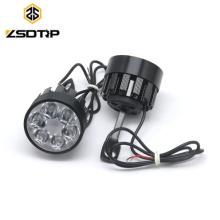 2pcs Universal motorcycle LED headlight spotlight side mirror mount installation assist lamp