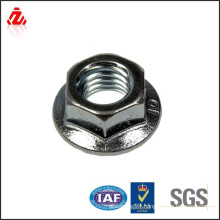 stainless steel M10 hex flange nut