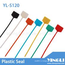 Одноразовая кабельная стяжка с нейлоновой этикеткой (YL-S120)