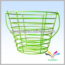 Hot-venta de polvo colorido recubierto de buena calidad de acero inoxidable cesta de alambre