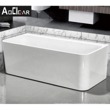 Aokeliya a easy installing rustic freestanding and stand alone tub with ledge