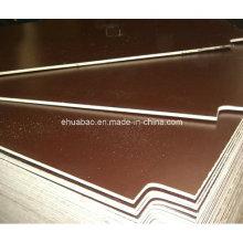 Contrachapado de Linyi / Contrachapado hecho de película Brown Film Poplar Core WBP Glue