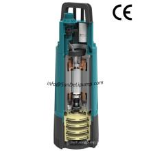 Início automático e parada alta pressão grande fluxo multiestágios rotor jardim submersível bomba com interruptor de pressão interna