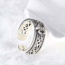 Fashion Design Sterling Silver man jewelry Thai silver puzzle ring