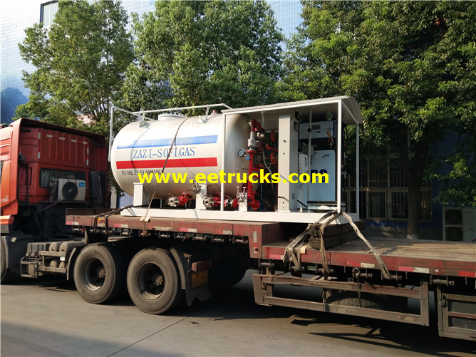 10MT Autogas Portable Skid Tanks